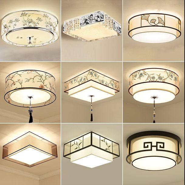 中式吊灯现代水晶灯