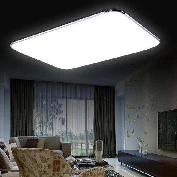 超薄LED吸顶灯客厅灯具长方形