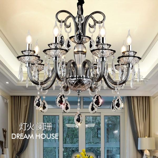 欧式吊灯现代水晶灯
