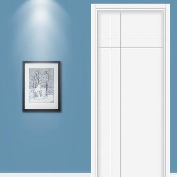态烤漆木门 实木复合门(MM0006)