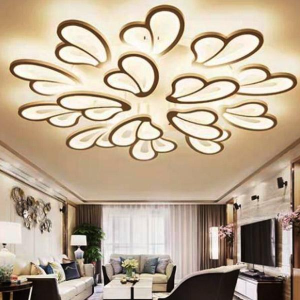 客厅灯大气花型led灯